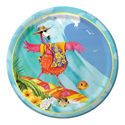 Tropical Flamingo Paper Luncheon Plates