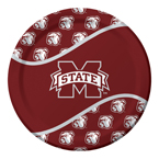 Mississippi State Paper Luncheon Plates