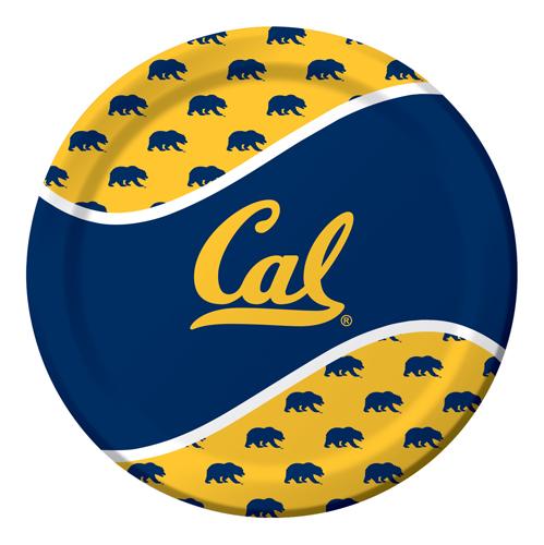 UC Berkeley Paper Luncheon Plates
