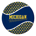 University of Michigan Paper Luncheon Plates