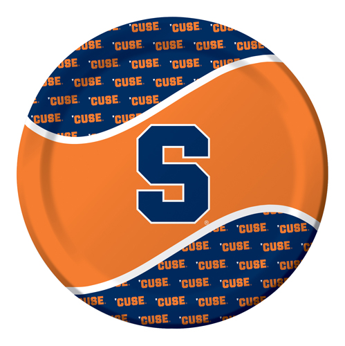 Syracuse University Paper Luncheon Plates