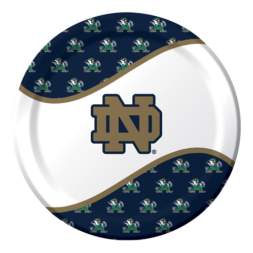 Notre Dame Paper Luncheon Plates