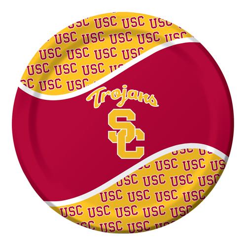 USC Trojans Paper Luncheon Plates