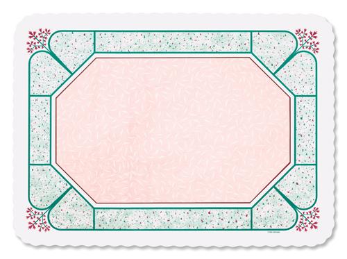 Cobblestone Paper Tray Mats - 12 3/4 x 16 5/8 Inches