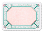 Cobblestone Paper Tray Mats - 13 5/8 x 18 3/4 Inches