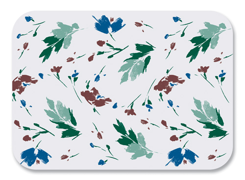 Color Splash Paper Tray Mats - 12 3/4 x 16 3/4 Inches