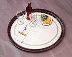 Regal Oval Paper Tray Mats - Non-Skid