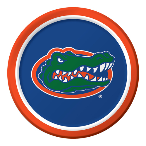 University of Florida Paper Luncheon Plates