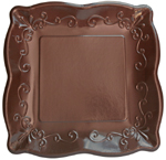 Cocoa Bean Paper Dinner Plates