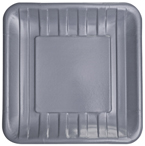 Platinum Embossed Paper Dinner Plates