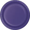 Purple Paper Luncheon Plates