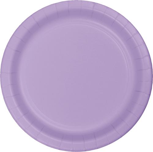 Lavender Paper Luncheon Plates
