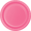 Candy Pink Paper Luncheon Plates