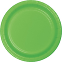 Lime Green Paper Luncheon Plates