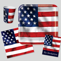 4th of July Party Supplies - U.S. Pride