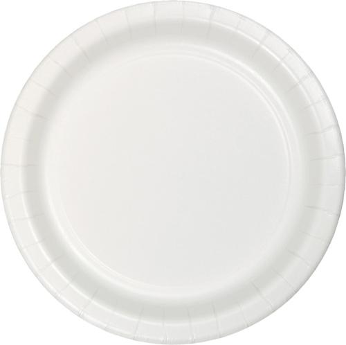 White Paper Dinner Plates