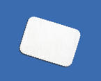 White Glassine Sheet Cake Liners - 15  x  20 Inches