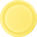 Mimosa Yellow Paper Dinner Plates