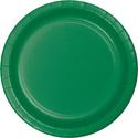 Emerald Green Paper Dinner Plates