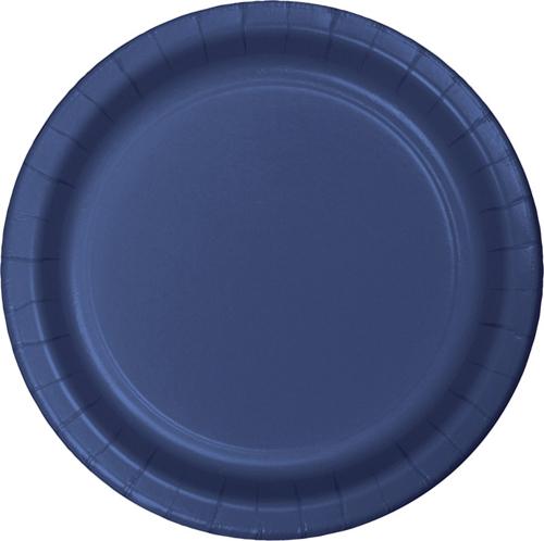 Navy Blue Paper Dinner Plates