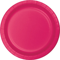 Magenta Paper Dinner Plates