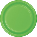 Lime Green Paper Banquet Dinner Plates