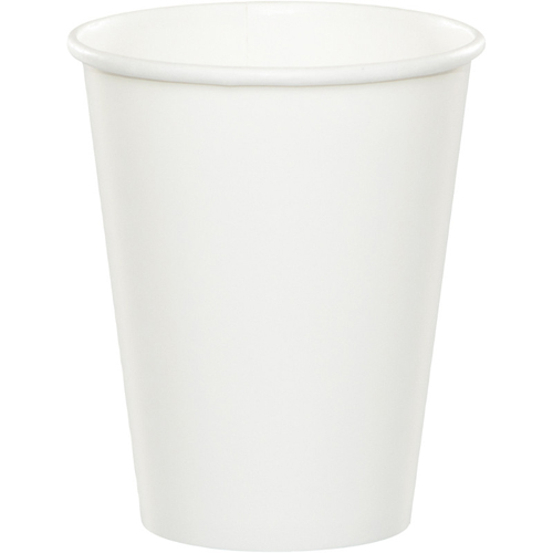 White Paper Beverage Cups