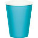 Bermuda Blue Paper Beverage Cups
