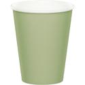 Sage Green Paper Beverage Cups