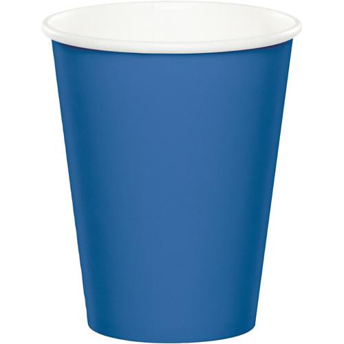 True Blue Paper Beverage Cups