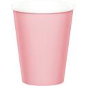 Pink Paper Beverage Cups