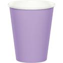 Lavender Paper Beverage Cups