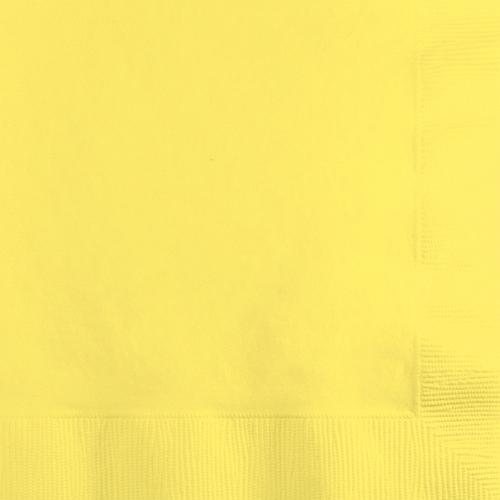 Mimosa Yellow Beverage Napkins - 500 Count