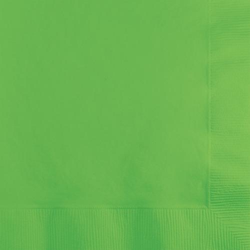 Citrus Green Beverage Napkins - 500 Count