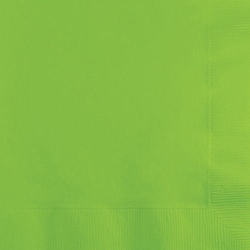 Lime Green Paper Beverage Napkins - 500 Count