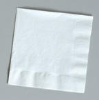 White Luncheon Napkins - 500 Count