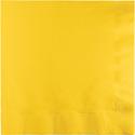 School Bus Yellow Luncheon Napkins - 500 Count