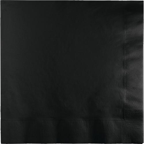 Black Luncheon Napkins - 500 Count