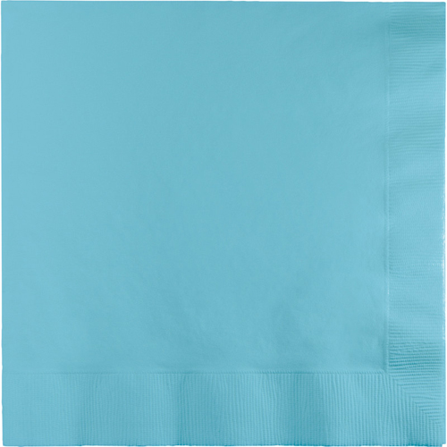 Pastel Blue Luncheon Napkins - 500 Count
