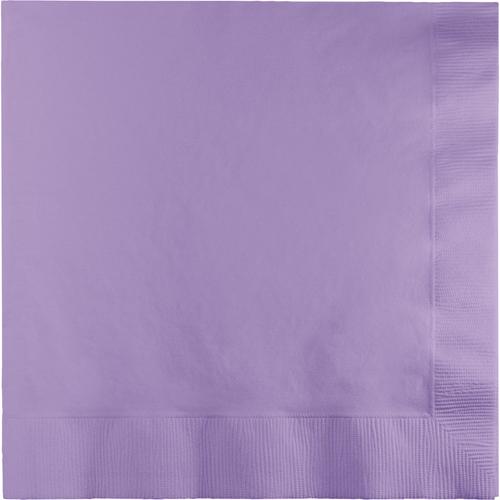 Lavender Luncheon Napkins - 500 Count