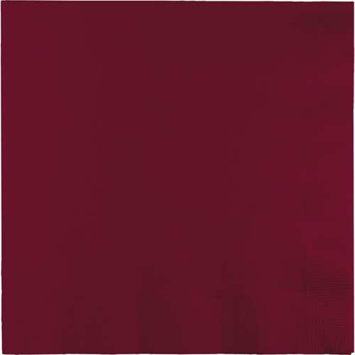 Burgundy Luncheon Napkins - 500 Count
