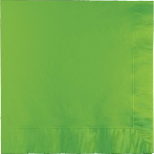 Citrus Green Dinner Napkins - 250 Count