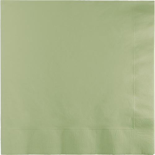 Sage Green Dinner Napkins - 250 Count