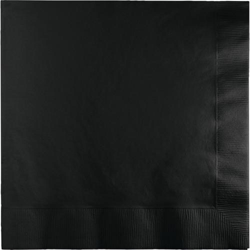 Black Dinner Napkins - 250 Count