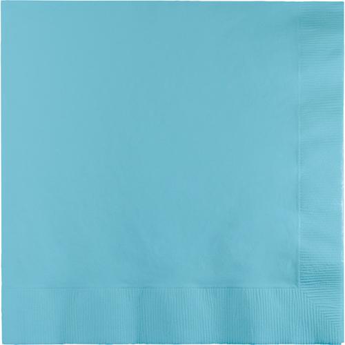 Pastel Blue Dinner Napkins - 250 Count