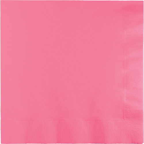 Candy Pink Dinner Napkins - 250 Count