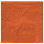 Bittersweet Orange Dinner Napkins - 250 Count