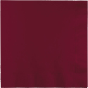 Burgundy Dinner Napkins - 250 Count