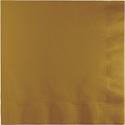 Gold Dinner Napkins - 250 Count