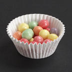 3.25 Inch White Fluted Bake Cups - 20,000 Count